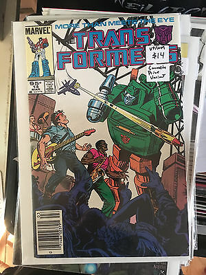 TRANSFORMERS #14 VF/NM 1st Print CANADIAN PRICE VARIANT Marvel Comic