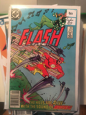 THE FLASH #337 VF/NM 1st Print CANADIAN PRICE VARIANT Pied Piper Newsstand