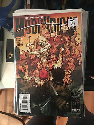VENGEANCE OF THE MOON KNIGHT #4 NM 1st Print Jerome Opena Leinil Yu