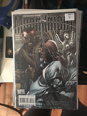 VENGEANCE OF THE MOON KNIGHT #3 NM- 1st Print Jerome Opena Leinil Yu