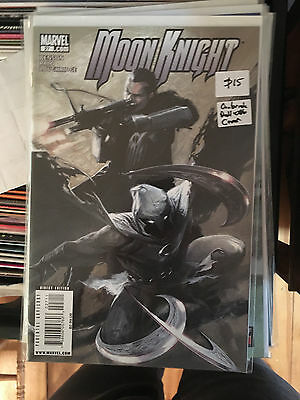 MOON KNIGHT #27 NM 1st Print GABRIELE DELL'OTTO COVER The Punisher App