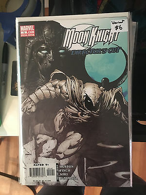 MOON KNIGHT #1 DIRECTOR'S CUT VARIANT David Finch Charlie Huston