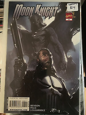 MOON KNIGHT #26 VF/NM 1st Print GABRIELE DELL'OTTO COVER The Punisher App