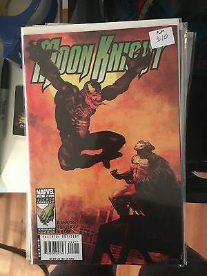 MOON KNIGHT #22 NM 1st Print VENOM Arthur Suydam Cover