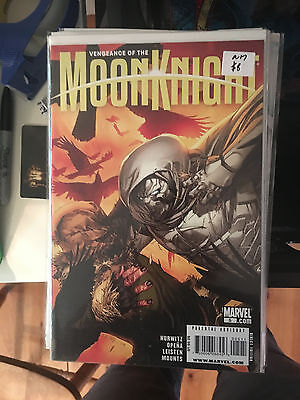 VENGEANCE OF THE MOON KNIGHT #5 NM 1st Print Jerome Opena Leinil Yu