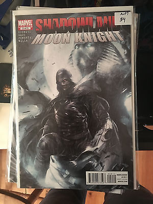 SHADOWLAND MOON KNIGHT #2 NM 1st Print MATTINA COVER