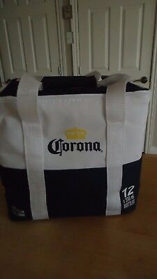 CORONA thermal insulated ZIPPERED bag COOLER with bottle opener