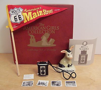 American Girl MOLLY ROUTE 66 ACCESSORIES NEW IN BOX