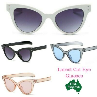 New Cat Eye Sunglasses Retro vintage  Shades UV400 *AUS stock quick postage