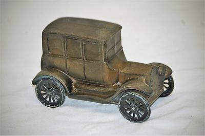 Old Vintage 1926 Ford Model T Still Metal Car Auto Coin Bank by Banthrico MCM