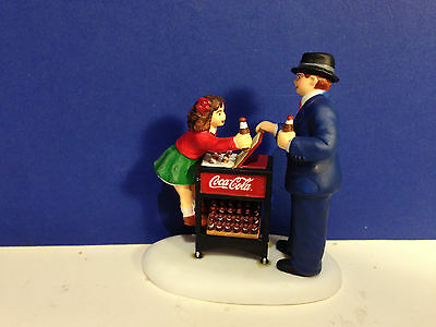 Dept 56 CIC Village A COKE FOR YOU AND ME w/ box Christmas in the City