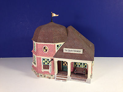 Dept 56 THE GRAND CREAMERY w/box Seasons Bay Village Combine Shipping!