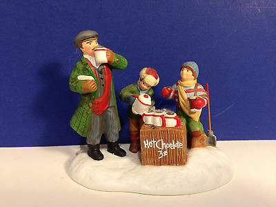 Dept 56 CIC Village HOT CHOCOLATE FOR SALE w/ box Christmas in the City
