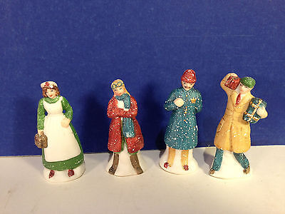 Dept 56 CIC Village CITY PEOPLE Set of 4 w/ box Combine Shipping!