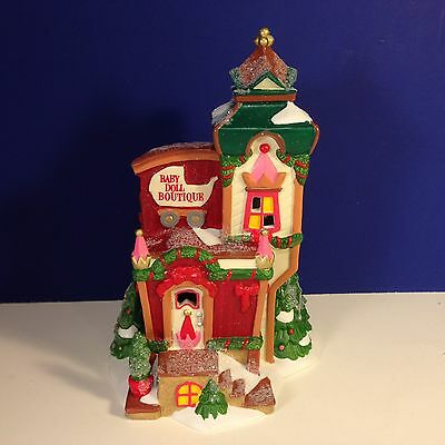 Dept 56 North Pole Village BABY DOLL BOUTIQUE w/ box NEW! Combine Shipping!