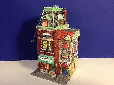 Dept 56 DOROTHY'S DRESS SHOP ORNAMENT Non Lit w/box Christmas in the City CIC