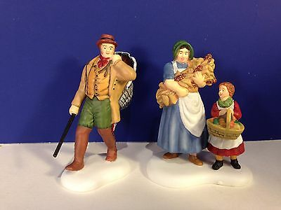 Dept 56 New England Village BEST OF THE HARVEST w/ box Combine Shipping!