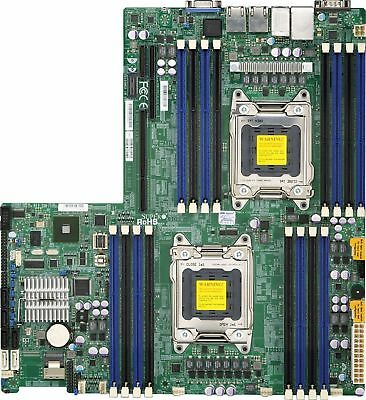 Supermicro X9DRW-iF Motherboard, Excellent Condition, IPMI