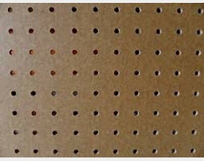 Pack Of 3 1200x600mm Pegboard Sheets 3.5mm Thick 18mm Hole Centre