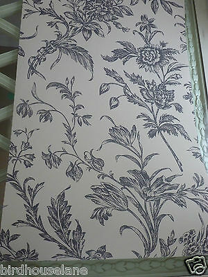 Lloyd charcoal biscuit wallpaper floral traditional striking several available