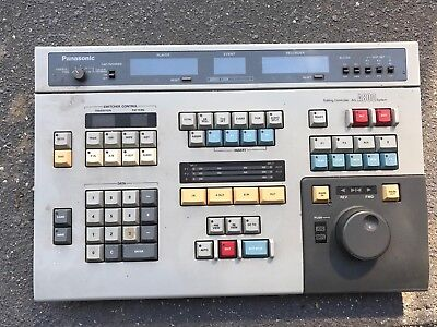 Panasonic ag-a800 Professional Editing Controller System
