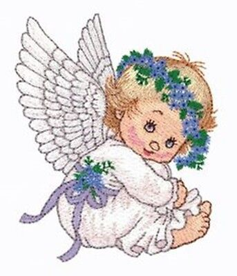 Watercolor Angels Collection - Machine Embroidery Designs On Cd