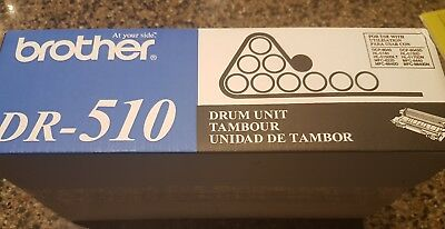Brother DR-510 TONER CARTRIDE REPLACEMENT Genuine OEM Drum