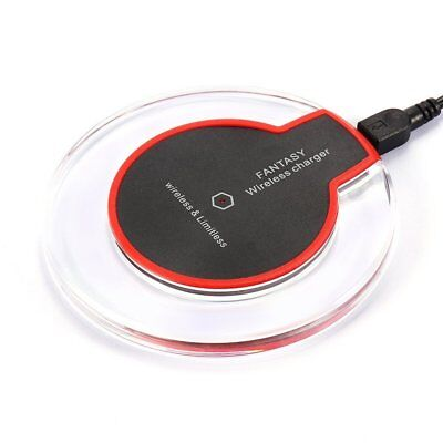 Wireless Charging Pad Desktop Charger For iPhone 8 /Plus iPhone X Samsung Note 8