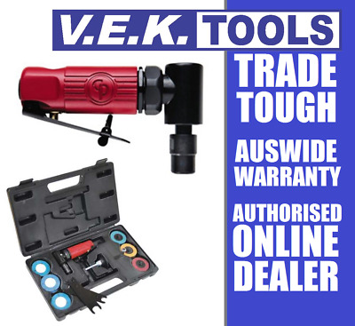 """Cp Tools Stubby Compact Right Angle 90 Degree Air 1/4"""" Die Grinder/sander Kit-Sp"""