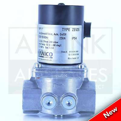 "Gas Interlock Solenoid Valve For Commercial Kitchens 1"" BSP (28mm) ZEV25"