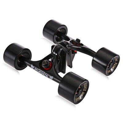 2pcs/Set Skateboard Truck with Skate Wheel Riser Pad Bearing Hardware Accessory