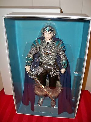 King of the Crystal Cave Ken Barbie doll NRFB Gold Label Faraway Forest MATTEL