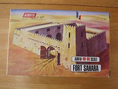 Airfix Ho/oo Fort Sahara. Contents Factory Sealed. With Flag. Excellent.