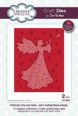Creative Expressions Festive Collection 2017 Christmas Angel