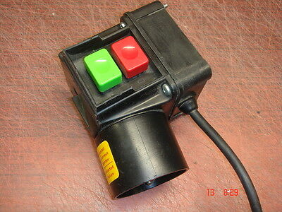 ON/OFF Switch for Site Saw 220v No Volt Release European Plug