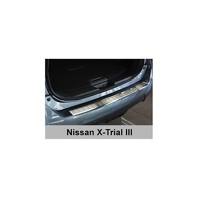DCP Stainless steel rear bumper protector for Nissan X Trail III 2014>