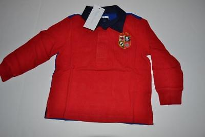 Polo Ralph Lauren Rlfc Crest Red 8 Polo Shirt Baby Size 18M New