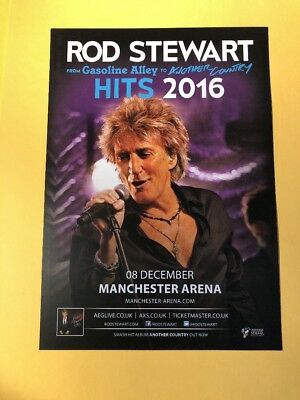Rod Stewart/The Who Tour Flyer