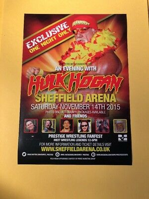 Hulk Hogan Tour Flyer