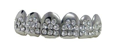 Grillzz VIP ultimative Iced Top Row Hiphop Bling Grillzz