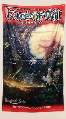 Force of Will FOW TCG Yggdrasil, l'Albero del Mondo ORIGINAL WALL BANNER NEW