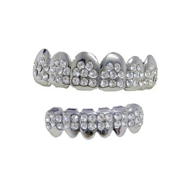 Grillzz Top & Bottom VIP ultimative Hiphop Bling Grillzz Set