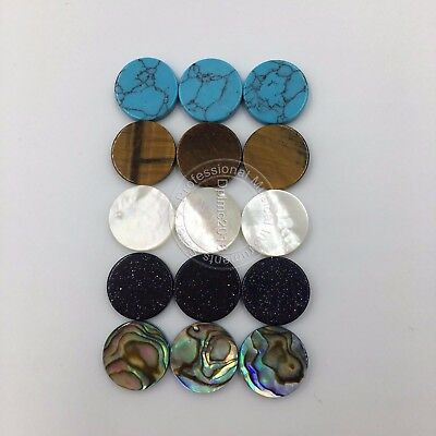 15 pcs trumpet finger key buttons for repairing parts 5 color