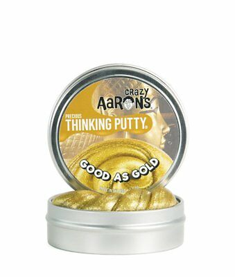 Crazy Aaron's Thinking Putty, GOOD AS GOLD, Precious, 8cm Tin
