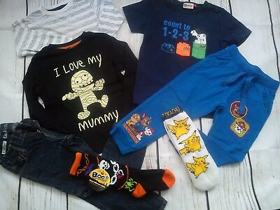 61x ZARA NEXT PUMA RALPH LAUREN NEW USED BUNDLE OUTFITS BOY CLOTHES 3/4 YRS (6)