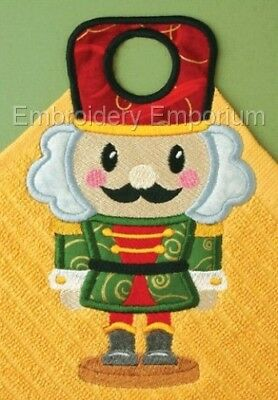 Christmas Towel Toppers Collection - Machine Embroidery Designs On Cd