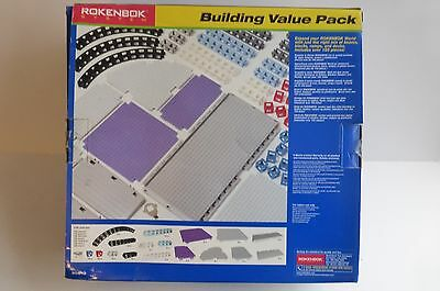 Rokenbok 30810 Lego Building Construction Beams Blocks Ramps