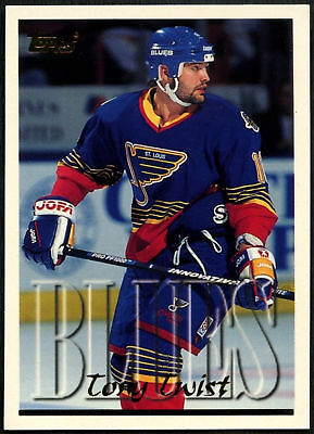 Tony Twist #203 - St. Louis Blues - Topps 1995-6 Ice Hockey Card (C531)