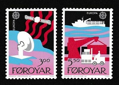 Faroe Is. Europa CEPT issue 1988 2v SG#161-162 SC#173-174