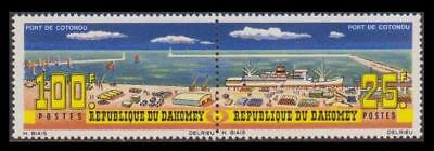 Dahomey Inauguration of Cotonou Port Pair of 2v SG#228-229